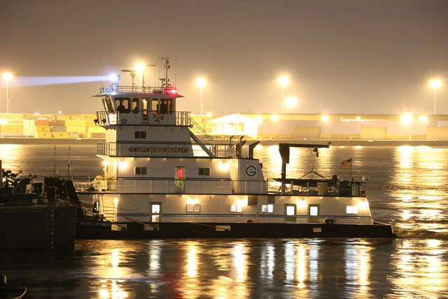Capt George Brumley Towboats Pushboats Barges Mississippi Ohio