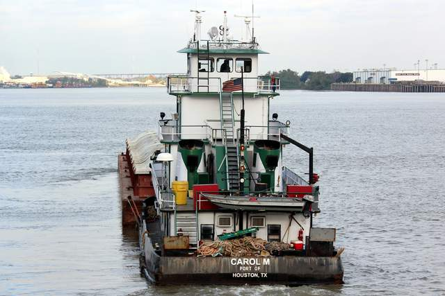 Towboats, Pushboats, Barges, Mississippi, Ohio, River